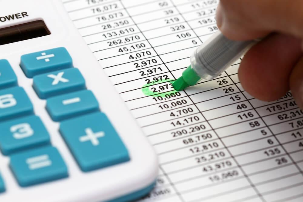 Crie um orçamento mensal